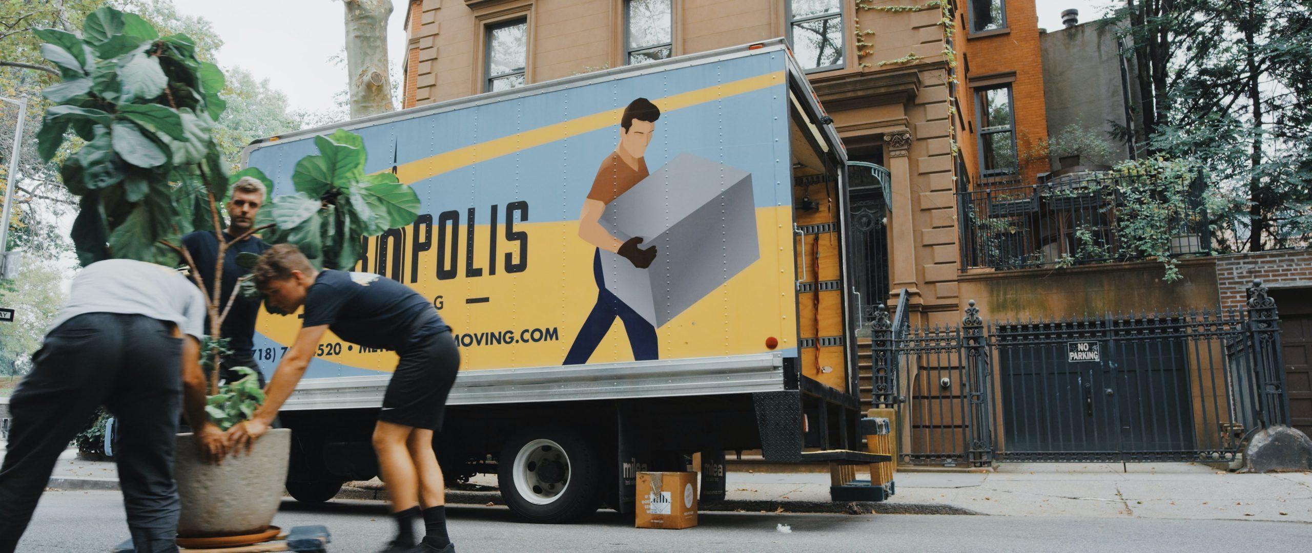 verhuisbedrijf inschakelen voor verhuizing